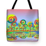 Lollypop Island Tote Bag