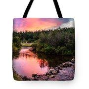 Lolo Hot Springs Creek Tote Bag