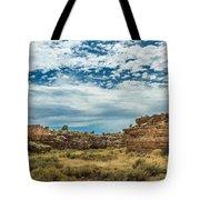 Lomaki Pueblo In Box Canyon Tote Bag