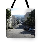 Lombard Street. San Francisco 2010 Tote Bag