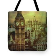 London - Big Ben Tote Bag