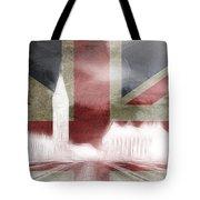 London Big Ben Abstract Tote Bag