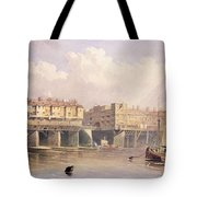 London Bridge, 1835 Tote Bag