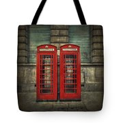 London Calling Tote Bag by Evelina Kremsdorf