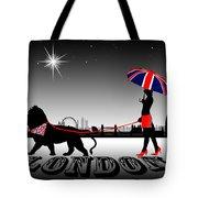 London Catwalk Queen Too Tote Bag