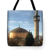 London Central Mosque Tote Bag
