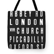 London City Subway Tote Bag