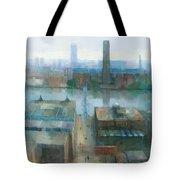 London Cityscape Tote Bag