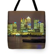 London Docklands Tote Bag by Dawn OConnor