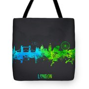 London England Tote Bag by Aged Pixel