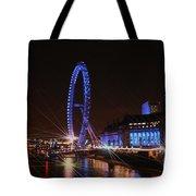 London At Night Tote Bag