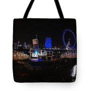 Downtown London Tote Bag