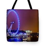 London Eye Night Glow Tote Bag