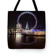 London Eye Night Tote Bag