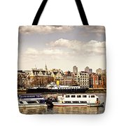 London From Thames River Tote Bag