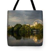 London - Illuminated And Reflected Tote Bag
