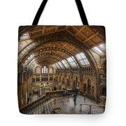 London Natural History Museum Tote Bag