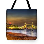 London Night View Tote Bag