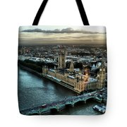 London - Palace Of Westminster Tote Bag