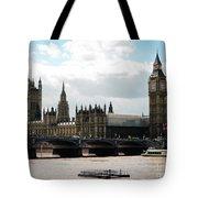 London Parliament Building Tote Bag