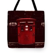 London Post Box Tote Bag