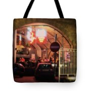 Eating Out In London Tote Bag