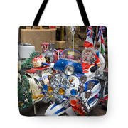 London Scooters Tote Bag