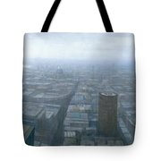 London Skyline Cityscape Tote Bag