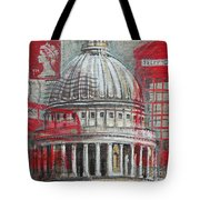London St Paul's Dome Tote Bag
