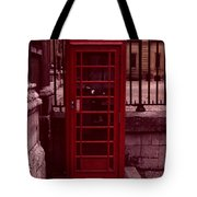 London Telephone Tote Bag