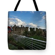 London Underground And The Tower Of London Tote Bag