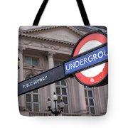 London Underground 1 Tote Bag