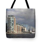 London Victoria Dock Tote Bag