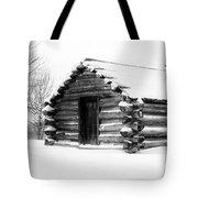 Lone Cabin Tote Bag