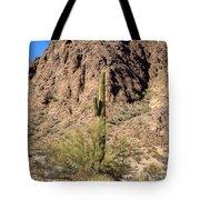 Lone Cactus  Tote Bag