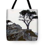 Lone Cypress 1970 Tote Bag