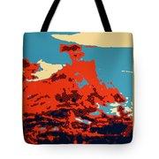 Lone Cypress Poster Tote Bag