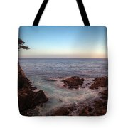 Lone Cyprus Pebble Beach Tote Bag