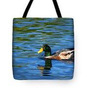 Lone Duck Tote Bag