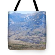 Lone Evergreen - Mount St. Helens 2012 Tote Bag