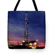 Lone Giant With Blue Sky Tote Bag