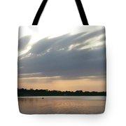 Lone Kayaker Tote Bag