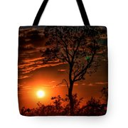 Lone Manzanita Sunset Tote Bag