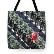 Lone Red Number 21 Fenway Park Tote Bag
