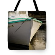 Lone Shark And Snow Tote Bag