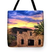 Lone Star Sunset Tote Bag