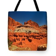 Lone Tree Atop The Waterpocket Tote Bag