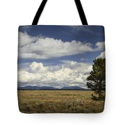 Lone Tree In The Grand Teton National Park Tote Bag