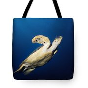Lone Turtle Tote Bag