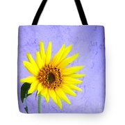 Lone Yellow Daisy Tote Bag